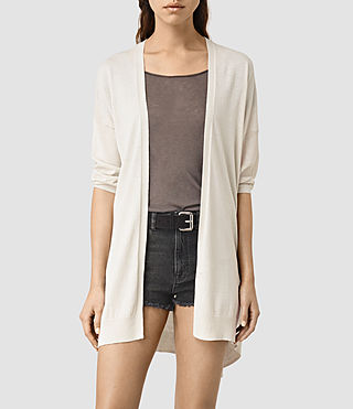 Womens Cast Cardigan (MIST GREY)