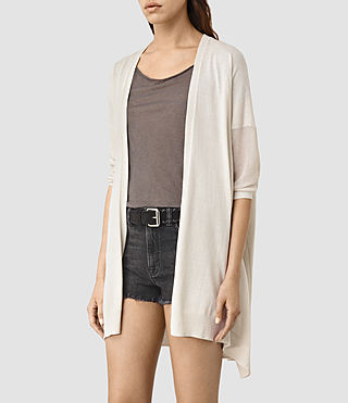 Women's Cast Cardigan (MIST GREY) - product_image_alt_text_2