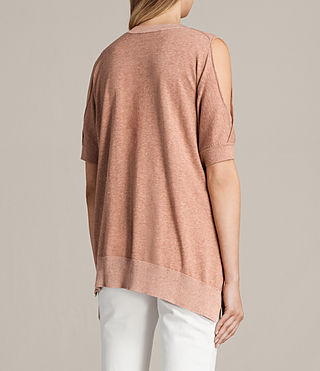 Women's Reya Knitted Top (BLUSH PINK) - Image 4
