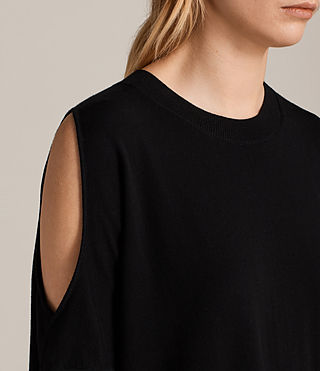 Womens Reya Top (Black) - product_image_alt_text_2