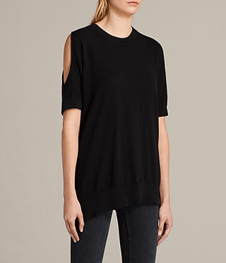 Womens Reya Top (Black) - product_image_alt_text_3
