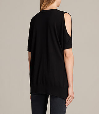 Womens Reya Top (Black) - product_image_alt_text_4