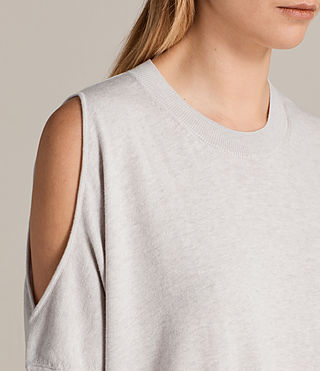 Womens Reya Top (PEARL GREY) - product_image_alt_text_2