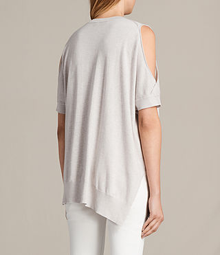 Womens Reya Top (PEARL GREY) - product_image_alt_text_5