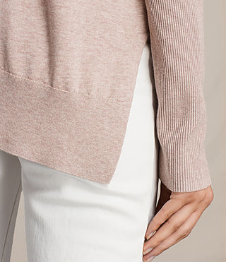 Womens Reya Sweater (Whisper Pink) - Image 2