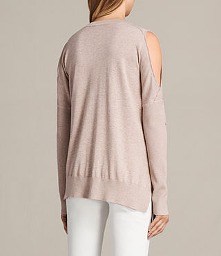 Womens Reya Sweater (Whisper Pink) - Image 5