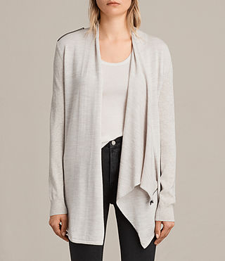 Women's Drina Cardigan (Mist Marl) -
