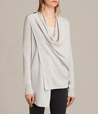 Donne Drina Cardigan (Mist Marl) - product_image_alt_text_3