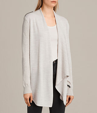 Donne Drina Cardigan (Mist Marl) - product_image_alt_text_4