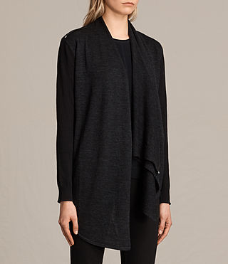 Womens Drina Cardigan (Black) - Image 4