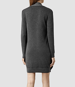 Womens Drina Sweater Dress (Charcoal) - product_image_alt_text_3