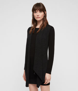 Mujer Drina Sweater Dress (Black) - product_image_alt_text_3