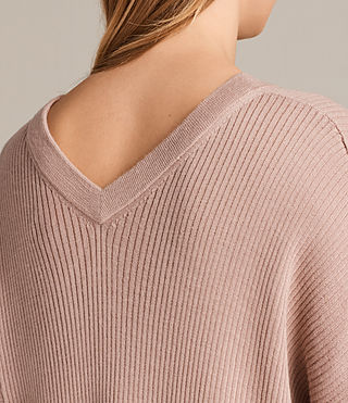 Mujer Jersey de pico Keld Olivo (Pink) - product_image_alt_text_2