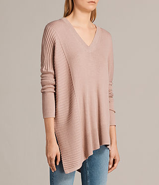 Mujer Jersey de pico Keld Olivo (Pink) - product_image_alt_text_3