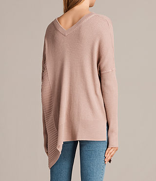 Mujer Jersey de pico Keld Olivo (Pink) - product_image_alt_text_5