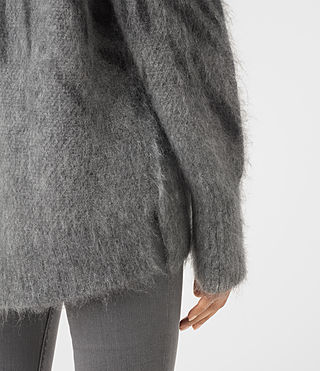 Damen Arley Animal Jumper (GREY MIX) - product_image_alt_text_2