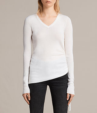 vana v neck jumper