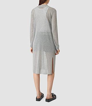 Mujer Jenna Cardigan (gunmetal green) - product_image_alt_text_3