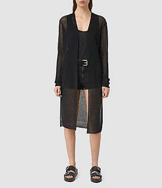 Womens Jenna Cardigan (Black)