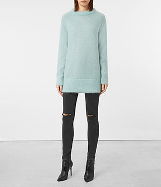 Womens Quant Sweater (ASH BLUE) - product_image_alt_text_1