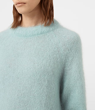 Womens Quant Sweater (ASH BLUE) - product_image_alt_text_2