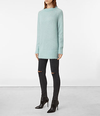 Womens Quant Sweater (ASH BLUE) - product_image_alt_text_3