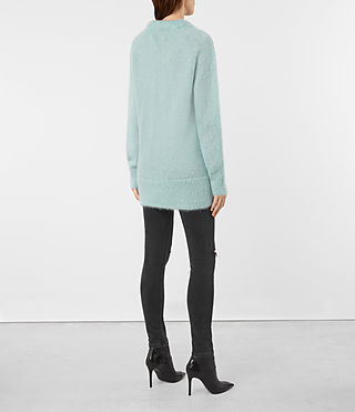 Womens Quant Sweater (ASH BLUE) - product_image_alt_text_4