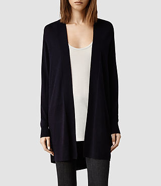 Womens Wasson Open Cardigan (Ink)
