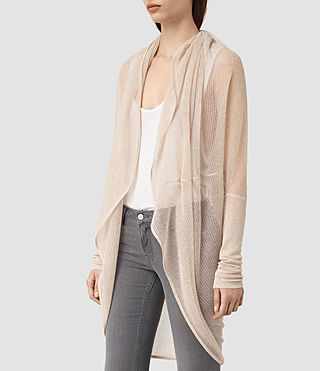 Mujer Itat Lev Shrug Cardigan (Pink) - product_image_alt_text_2