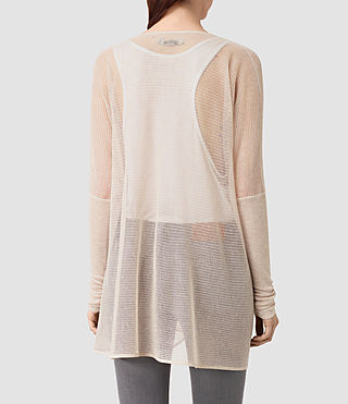 Mujer Itat Lev Shrug Cardigan (Pink) - product_image_alt_text_4