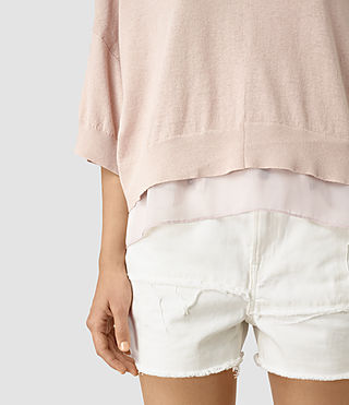 Mujer Relm Knit Top (Quartz Pink) - product_image_alt_text_2