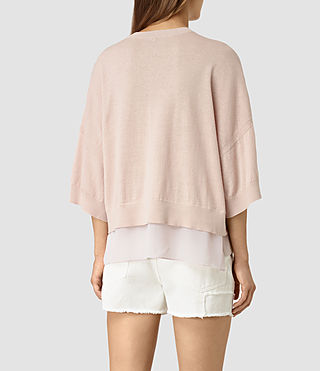 Mujer Relm Knit Top (Quartz Pink) - product_image_alt_text_3