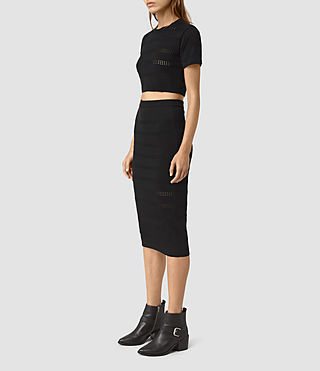 Womens Casto Skirt (Black)