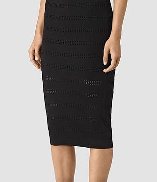 Femmes Casto Skirt (Black) - product_image_alt_text_2