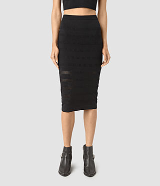 Mujer Casto Skirt (Black) - product_image_alt_text_3