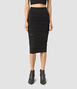 Femmes Casto Skirt (Black) - product_image_alt_text_3