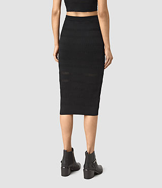 Femmes Casto Skirt (Black) - product_image_alt_text_4