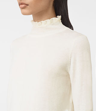 Womens Granville Sweater (CREAM WHITE) - product_image_alt_text_3