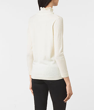 Womens Granville Sweater (CREAM WHITE) - product_image_alt_text_4