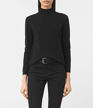 Womens Granville Sweater (Black)