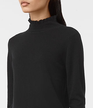 Womens Granville Sweater (Black) - product_image_alt_text_2