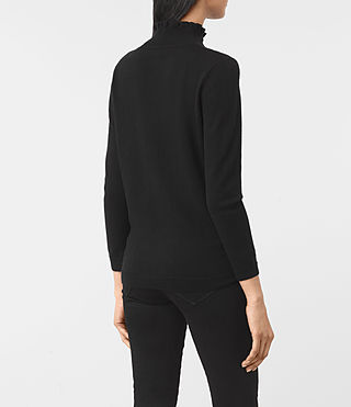 Womens Granville Sweater (Black) - product_image_alt_text_4