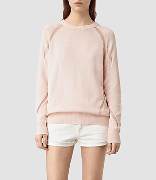 Womens Lanta Sweater (ROSE PINK)