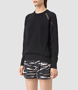 Mujer Lanta Sweater (Black) - product_image_alt_text_2