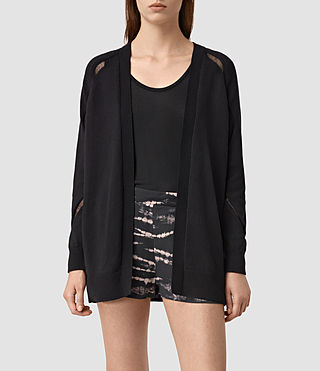 Womens Lanta Cardigan (Black)
