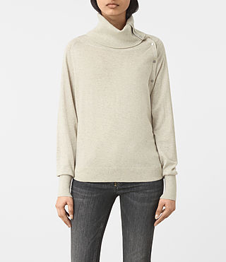 Womens Erin Sweater (MIST GREY) - product_image_alt_text_1