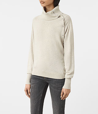 Womens Erin Sweater (MIST GREY) - product_image_alt_text_2