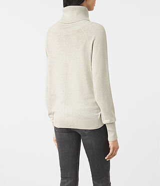 Womens Erin Sweater (MIST GREY) - product_image_alt_text_4