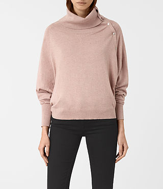 Womens Erin Sweater (CINDER ROSE PINK) - product_image_alt_text_1