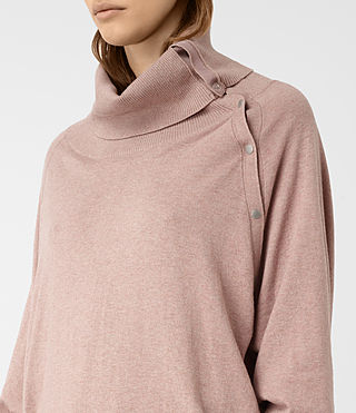 Womens Erin Sweater (CINDER ROSE PINK) - product_image_alt_text_2